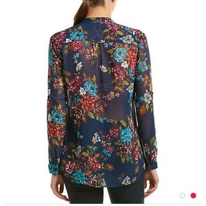 Kut from the Kloth Tops - Kut from the Kloth top, navy floral and GORGEOUS